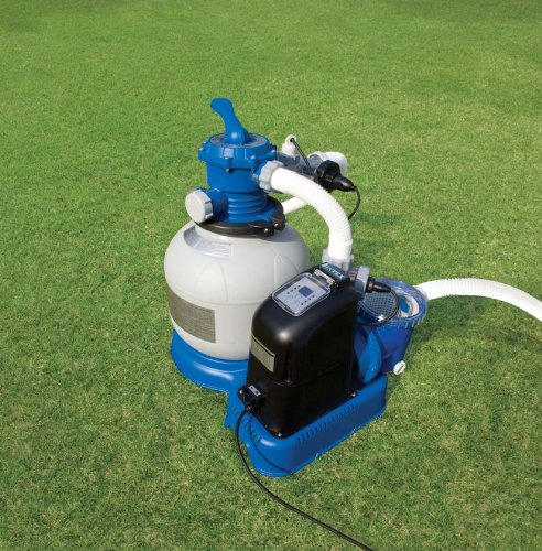 Intex 1600 Gph Saltwater System Amp Sand Filter Pump Set