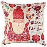 Kissenbezug,LHWY Vintage Weihnachten Sofa Bett Home Decor...