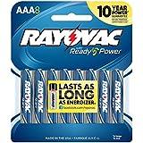 Rayovac 824-8CF Alkaline AAA Batteries