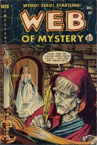 Web of Mystery - 6 cover