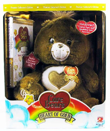 Golden Heart Of Gold Care Bear Premier Collectors Edition front-983468