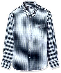 Gant Boys' Shirt (GBSEF0004_Deep Cobalt_S)