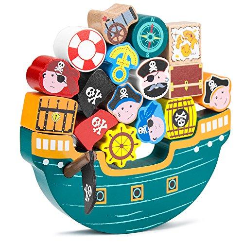 Imagination Generation Blockbeard's Balance Boat Balancing Game