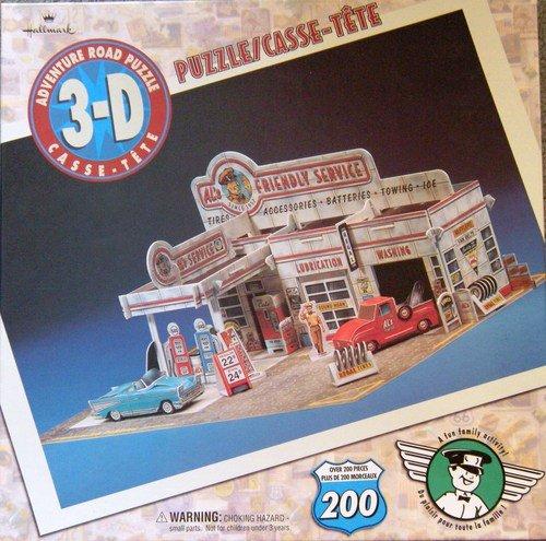 Hallmark 3-D Adventure Road Puzzle