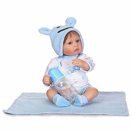 Terabithia 16 pouces Realistic Adorable Nouveau née Preemie Kits de poupée pour garçon