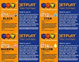 JETPLAY 1 X SET Compatible T0715 (T711-T714) Full Set of High Yield (19ml) Black/Cyan/Magenta/Yellow Ink Cartridges for Epson Stylus D78 D92 D120 DX4000 DX4050 DX4400 DX4450 DX5000 DX5050 DX6000 DX6050 DX7000F DX7400 DX7450 DX8400 DX8450 DX9400P S20 SX10