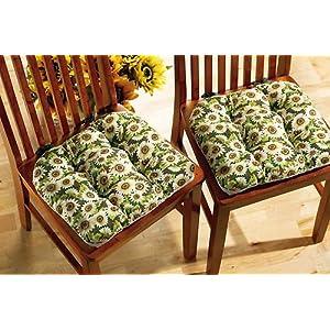 Sunflower Chair Cushions Chair Pads Amp Cushions