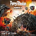 Angriff der Posbis (Perry Rhodan NEO 115) Audiobook by Rüdiger Schäfer Narrated by Hanno Dinger
