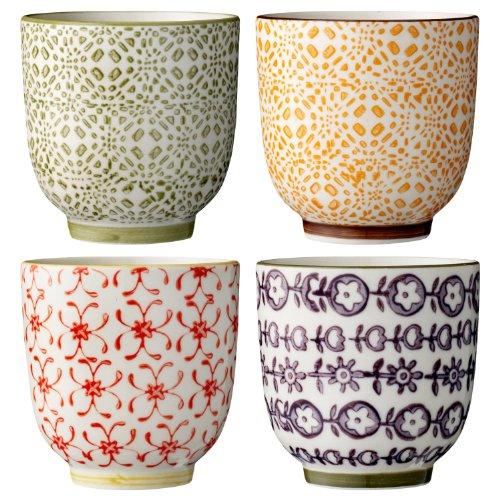 """Becher """"Isabella"""" (4 St.) / Keramik / handgemacht"""