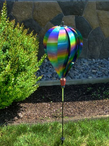in the breeze rainbow whirl 10panel hot air balloon