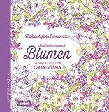 Image de Malbuch für Erwachsene Blumen