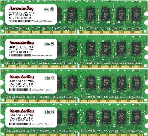 Apple Mac Pro Memory 16GB 800MHz DDR2 FB-DIMM ECC 4x4GB Kit MB194G//A