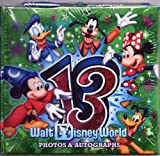 Walt Disney 2013 Official Autograph and Photos Book with Pen