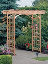 Big Sale Arboria Berkeley Cedar Arbor