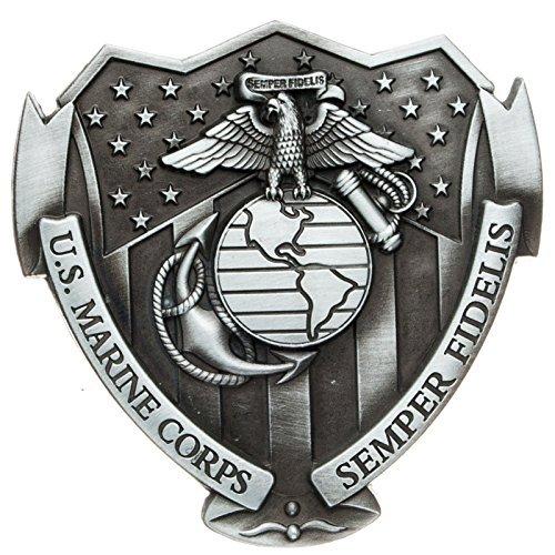 Fibbia US Marine Corps Semper Fidelis - Fibbia de cintura
