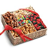 Fathers Day Snackers Sweets and Nuts Gift Basket