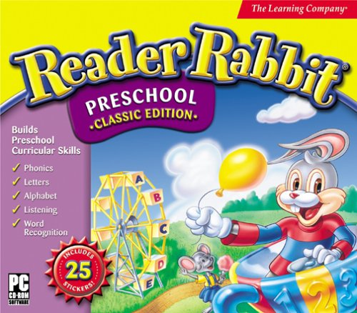 Reader Rabbit Preschool (Jewel Case)