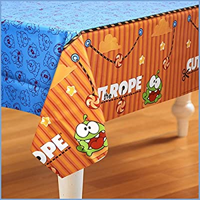Birthday Express - Cut the Rope Plastic Tablecover