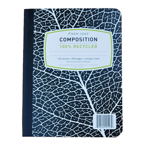 Image of Composition Book - 100% Recycled Paper