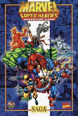 Marvel Super Heroes Adventure Game (Saga System) front-660537