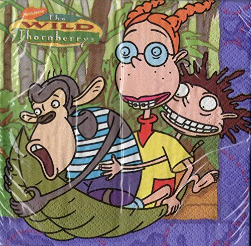 The Wild Thornberrys Party Napkins (1 pk of 16)