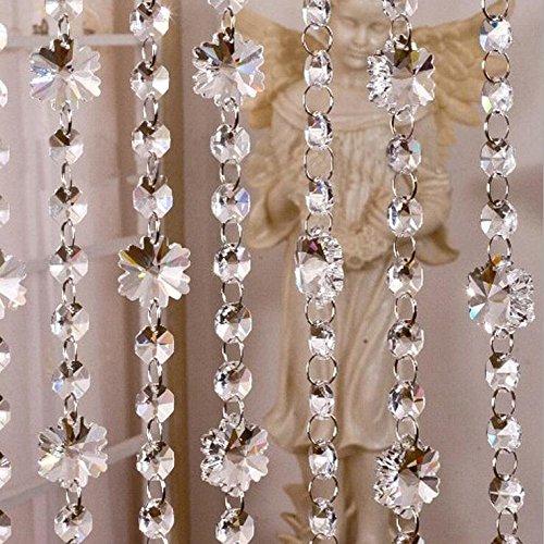 zhenniapp-5pcs-gourde-acrylique-deco-perles-faux-crystal-garland-mariagetransparente