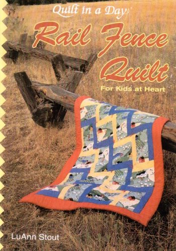 Rail Fence Quilt for Kids at Heart - 1