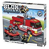 Mega  Bloks, Blok Squad, Fire Patrol Rescue, 190 Piece