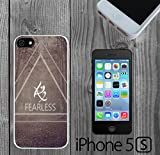 Mortal Instruments Rune Fearless Custom made Case/Cover/Skin FOR iPhone 5/5s -White- Rubber Case (Ship From CA)