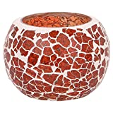 Eshoppingportal's Crafted Orange Colored Candle Holder