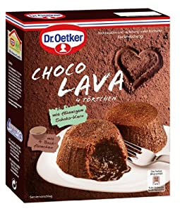 Dr.Oetker - Choco Lava '4 Törtchen' - 295 GR