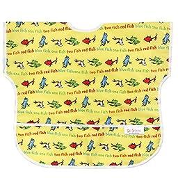 Bumkins Waterproof Junior Bib, Seuss Yellow Fish (1-3 Years)