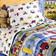 Trains, Planes & Trucks Toddler Bedding Set by Olive Kids