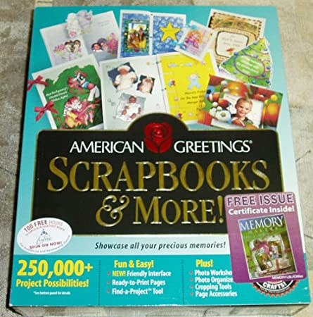 American Greetings Scrapbooks & More! 250,000 Project Possibilities
