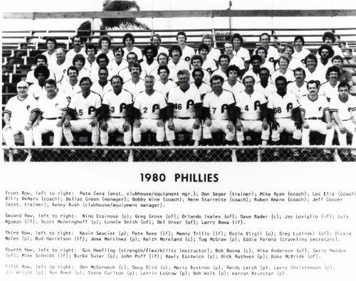 1980-World-Champions-Philadelphia-Phillies-Team-8x10-Photo-Mike-Schmidtl-Mint-Condition