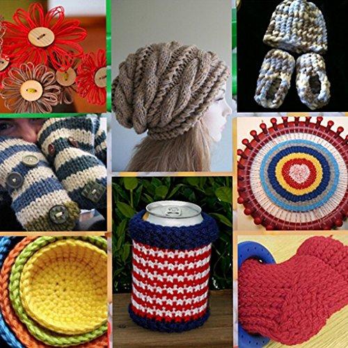 Loom Knitting Kits : Buy imported set sizes round circle hat knitter