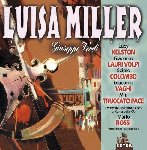 Cetra Verdi Collection: Luisa Miller