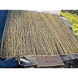 18-20mm 183x183cm goldgelb Bambusrollzaun Rollzaun Bamboo