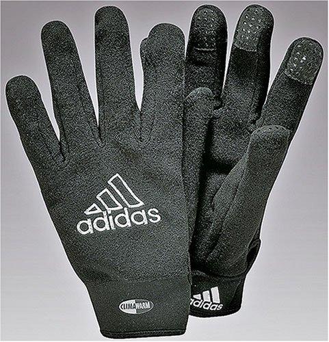 Adidas-Guanti sportivi, unisex, Field Player, nero/bianco, Dimensione 8