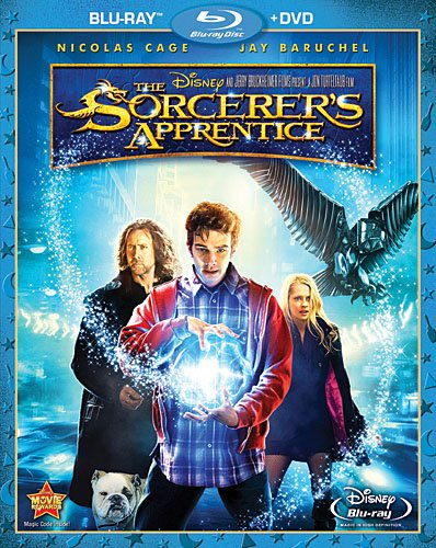 Cover art for  The Sorcerer's Apprentice (Two-Disc Blu-ray / DVD Combo)