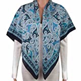 Fashions Indian Scarves for Women Clothes Handcrafted in India 44 X 44 Inches