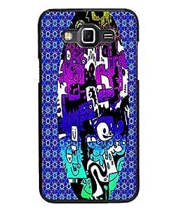 PrintDhaba Graffiti D-3950 Back Case Cover for SAMSUNG GALAXY GRAND 3 (Multi-Coloured)