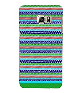 PrintDhaba Tribal Pattern D-1726 Back Case Cover for SAMSUNG GALAXY NOTE 5 EDGE (Multi-Coloured)