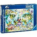 Ravensburger Disney World Map 1000 piece jigsaw puzzle