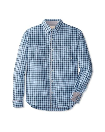 Cutter & Buck Men's Long Sleeve Holden Check Shirt