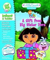 Little Touch Leap Pad Book- Dora the Explorer