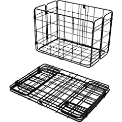 The Wald 582 sets the standard for ingenuity when it comes to rear baskets. Mounting to the side of many rear racks, this nimble basket is the perfect size for packing 1-2 bags of groceries while balancing your load. When not in use, the base of the ...