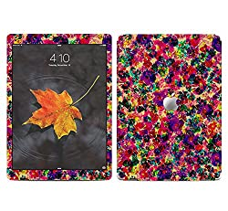 Theskinmantra Pink and Purple flowers SKIN/STICKER/VINYL for Apple Ipad Pro Tablet 12.9 inch