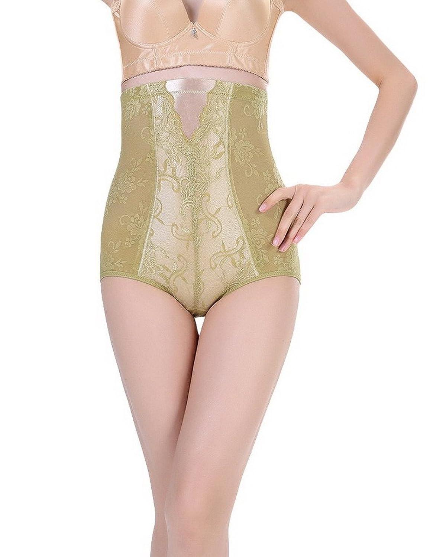 Bigood 1*Miederbody Damen Miederpants Body Miederslips mit Profil Hoch Taille Grun online bestellen