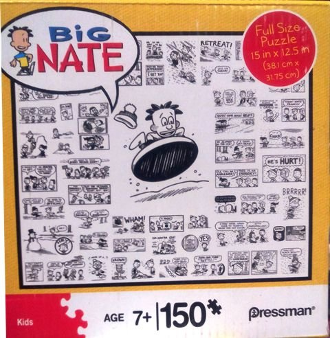 Big Nate 150 Piece Puzzle 15 X 12 Sledding
